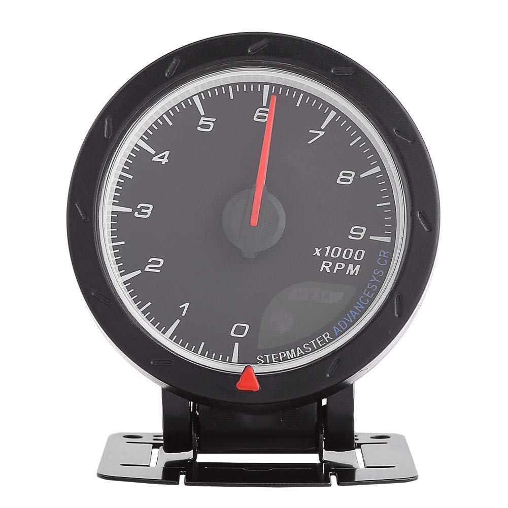 Max 63% OFF Pedestal Mount Mini-Monster Tachometer Universal Sh In stock 12V RPM 9000