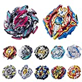 DOULINE Gyros 10-12 Pieces Pack, Battling Top Battle Burst High Performance Set, Metal Fusion Attack Top Set , Best Toys Gift for Boys Kids Children (12 Pieces)