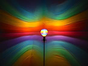 Hand-Painted Rainbow Mood-Light Bulb