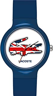 Lacoste Watches Unisex Goa Blue Union Jack With White Dial 2020072