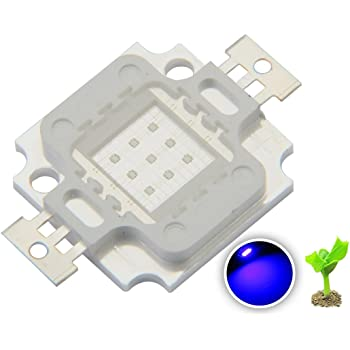 10W 4pcs Green 520NM 5pcs Royal Blue 455NM Led Chip Light Cyan 490NM 9-11V 1A