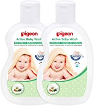 Pigeon Active Baby Wash Combo (Pack Of 2), 200ml