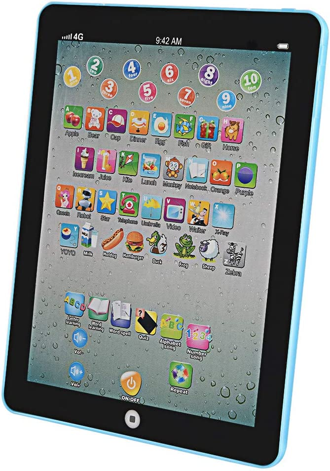 Huokan Many popular Regular store brands English Language Educational Gift Day Children's Tablets