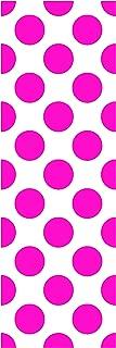 Locker Designz Deluxe Magnetic Locker Wallpaper, Hot Pink Dot