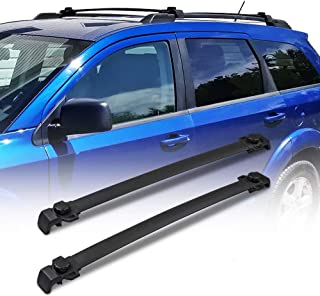 TRIL GEAR Cross Bar Roof Rack Luggage Cargo Carrier Rail Rack for 2009-2018 Dodge Journey