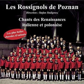 Chants des Renaissances italienne et polonaise