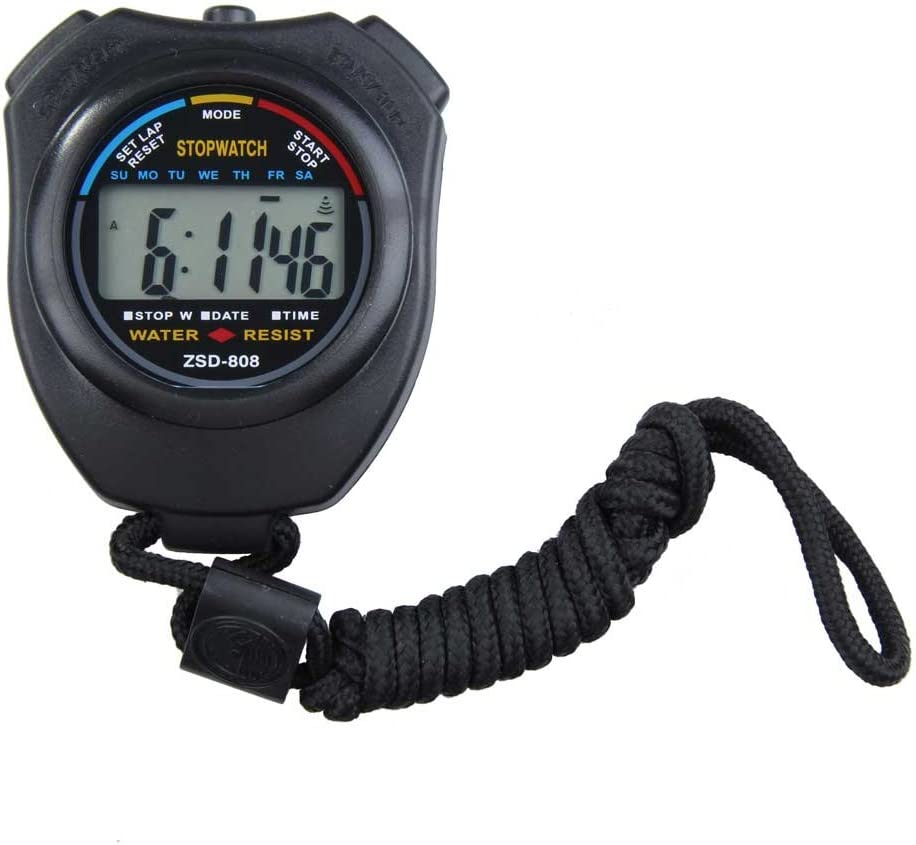 Vktech New Digital Running Timer Sports Stopwatch Co Financial sales sale Chronograph Max 47% OFF