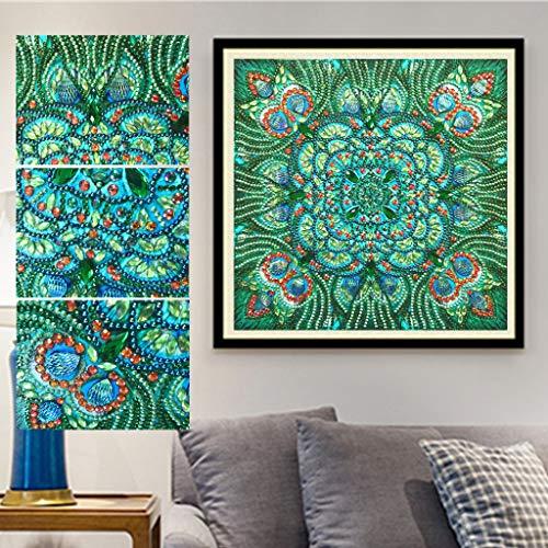 5D diamantschilderij in de vorm van een dier, voor planten, water, wafelstenen, diamant, borduurwerk, decoratie, 30 x 30 cm