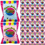 Cotton Candy Blue and Pink Party Flavors Supplies Birthday Treats for Kids, Kosher, 1oz Bag (40-Pack)