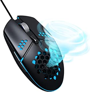 【 手汗 対策 マウス 】ZERODATE(ゼロデイト) 送風 ファン 搭載 有線 マウス G25 【国内正規品】手汗すっきり 最高解像度 3,200dpi 6ボタン Win & Mac 対応 LED イルミネーション 搭載 BEGALO(ベガ...