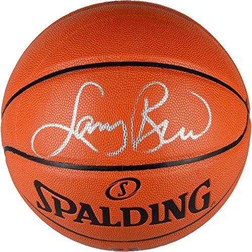 Larry Bird Boston Celtics Autographed Indoor/Outdoor Basketball - Autographed Basketballs