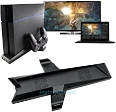 EE Cooling Station Vertical Stand with 2 Controller Charging Dock for PlayStation 4