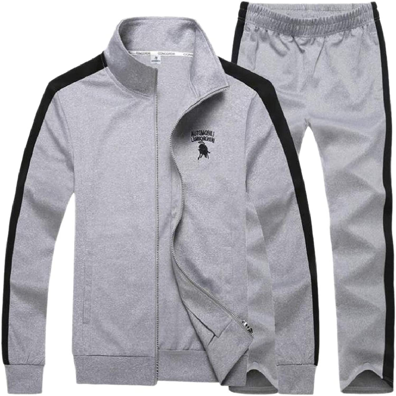 RGCA Men's Sports Oversized Lounge Hoodies Stylish Autumn Sweatshirt Set