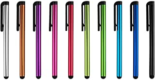 NszzJixo9 10pcs Universal Capacitive Stylus Touchscreen Pen for Ipad Tablet PC for Samsung Phones Android and Capacitive Screens Devices Long Lasting Easy to Carry