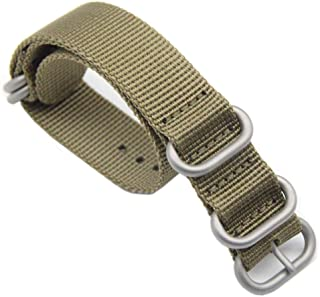 Nato ベルト 16mm時計ベルトZULUナイロンバンド リボン布製替えバンド 小型ウォッチストラップG10交換ベルト 工具付