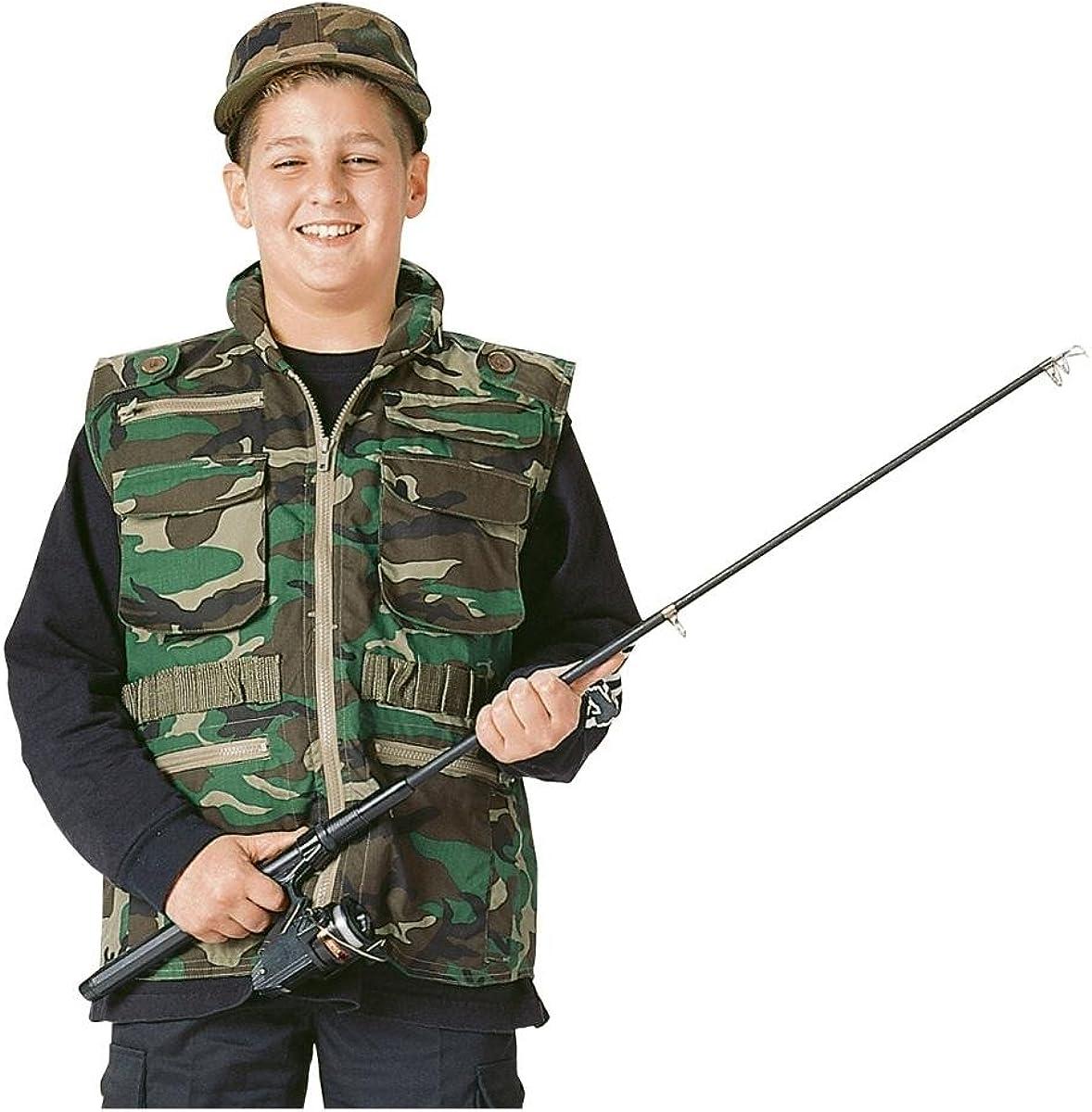 Max 46% OFF Rothco Kids Ranger Vest Fashion - Woodland Camo