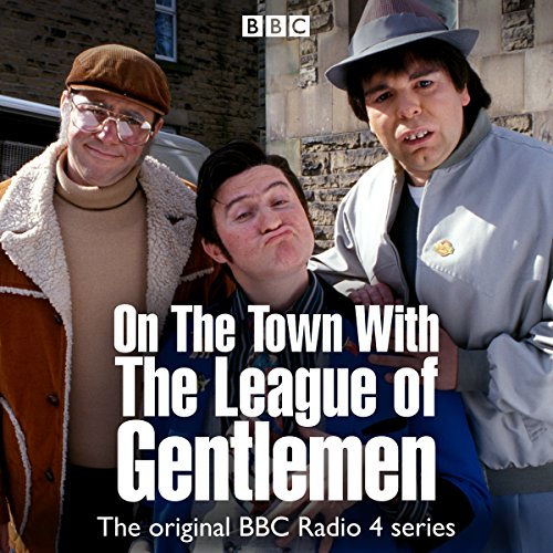 On the Town with The League of Gentlemen audiobook cover art