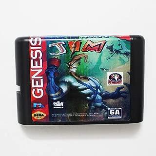 Value★Smart★Toys - Earth Worm Jim 16 bit MD Game Card for Sega Mega Drive for Genesis