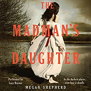 The Madman's Daughter audiobook cover art