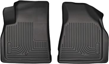 Husky Liners Fits 2008-17 Buick Enclave, 2009-17 Chevrolet Traverse, 2007-16 GMC Acadia, 2017 GMC Acadia Limited Weatherbeater Front Floor Mats
