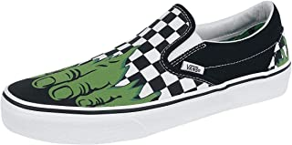 09aed3ad34 Vans Classic Slip-On (Marvel) Spider-Man Black VN0A38F79H7 Skate Shoes
