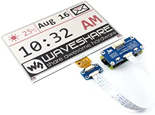 Three-Color 7.5inch E-Paper Display HAT Module 640x384 Tri-color Electronic E-ink Paper Screen Compatible with Raspberry Pi/Arduino/STM32 SPI Interface Wide Viewing Angle