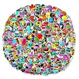 600 pcs Cool Random Stickers Vinyl Skateboard Stickers, Variety Pack for Laptop Hydro Flask Guitar Travel Case Water Bottle Car Luggage Bike Sticker Waterproof Graffiti Decals,Gift for Teens Adult