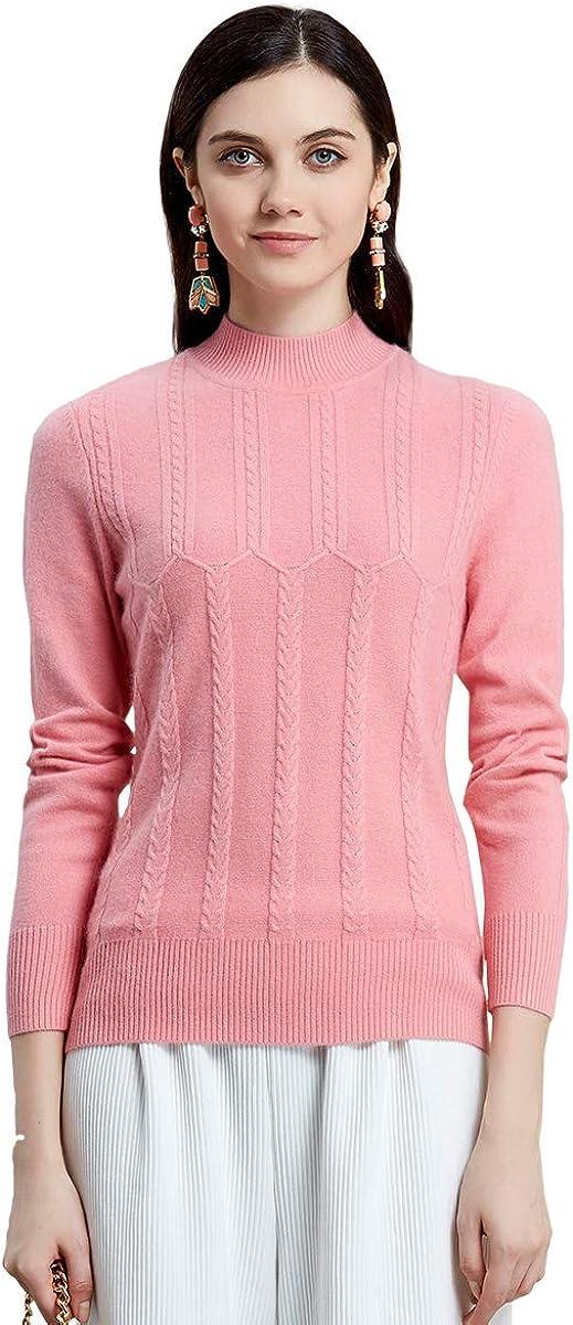 ZHILI Turtle Neck Pullover Cashmere Sweater