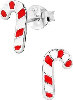 penny earrings studs