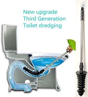 per lavandino Portatile vasche da Bagno Strumento di Pulizia con Ventosa per Doccia Colore Nero SYN sturalavandini per WC in plastica