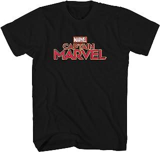 تي شيرت للبالغين مطبوع عليه شعار Marvel Captain Movie Poster