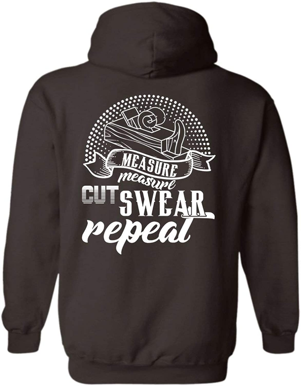 Sheep Fly Measure Cut Swear Carpenter Adult Hoodie Sweatshirt for Men, Women