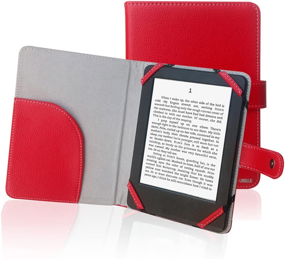 ENJOY-UNIQUE Book Style Litch Pu Gorgeous Leather for Cover quality assurance 6