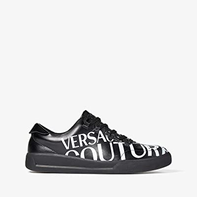 Versace Jeans Couture Bold Logo Low Top Sneaker (Black) Men
