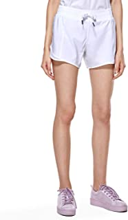 CRZ YOGA Women's Fitness Sports Gym Athletic Running Shorts with Pocket-4 Inches