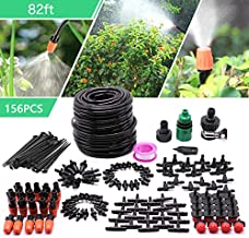 CARER SPARK Drip Irrigation Kit,Garden Irrigation System with 82ft 1/4