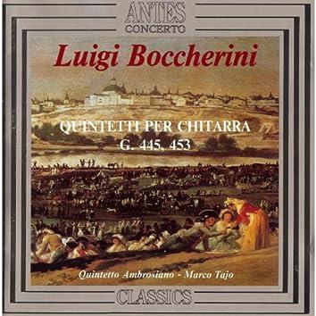 Boccherini: Quintetti per chitarra, G. 445 & 453