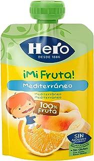 Hero - Bolsita De Fruta Nanos Mediterráneo 100 gr - Pack de ...