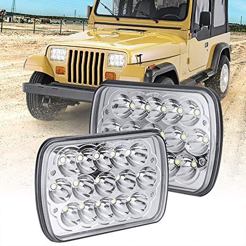 H6054 LED Headlights, Sakeye 2PCS Rectangle 7x6 LED Headlights Pair...