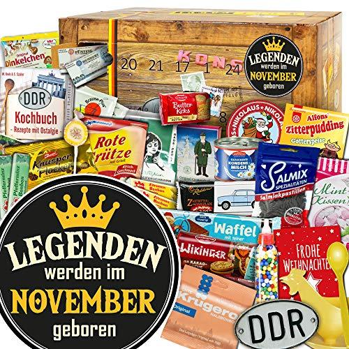 Legenden werden im November geboren - Weihnachtskalender DDR - Weihnachtskalender Herren