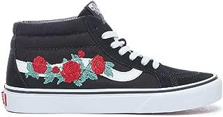 Vans Unisex Authentic Skate Shoe Sneaker (Mens 5.5/Womens 7, Red/True White 7284)