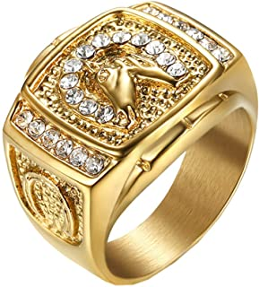 Best horse ring gold Reviews