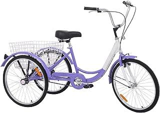 folding three wheel bicycle