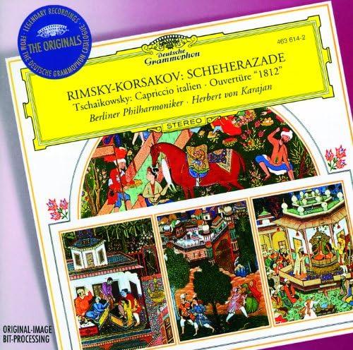 Berliner Philharmoniker, Herbert von Karajan, Michel Schwalbé, Nikolai Rimsky-Korsakov & Pyotr Ilyich Tchaikovsky