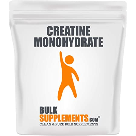 BulkSupplements.com Creatine Monohydrate (Micronized) - Creatine Powder - (1 Kilogram)