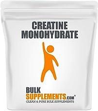 BulkSupplements.com Creatine Monohydrate (Micronized) - Creatine Powder - (1 Kilogram)