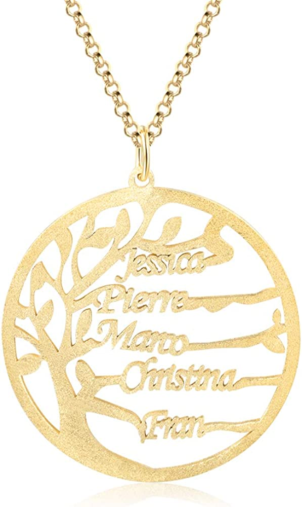 Personalized Infinity Name Necklace Tree Family Many popular brands Cust My wholesale
