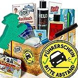 Führerschein bestanden / Männer DDR Pflegebox / Führerschein bestanden Geschenk