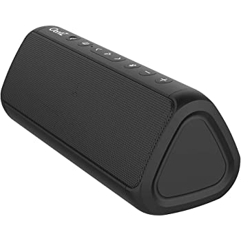 OontZ Angle 3 Ultra PRO Edition: Waterproof Bluetooth Speaker, 21-Watts Louder Volume, Exceptional Sound & Bass, 100ft Wireless Range, Play Two Together for Dual Stereo, Bluetooth Speakers