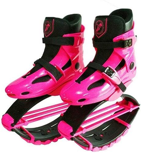 FBestechaussures Kangoo Jumps Les Filles mettent en Forme des Chaussures de gravité Bottes de Rebond d'enfants Bounce la chaîne de Charge de Poids 50-70KG